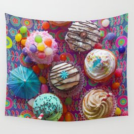 Cupcake du Jour Wall Tapestry