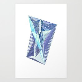 Geminate - Twilight Art Print