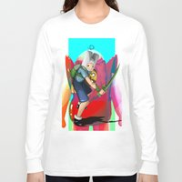 finn and jake Long Sleeve T-shirts featuring Finn & Jake by Joshua M. Rhodes III