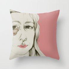 Sueños rotos Throw Pillow
