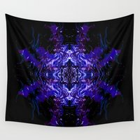 swimming Wall Tapestries featuring Swimming... by Cherie DeBevoise