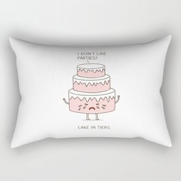 Cake in tiers Rectangular Pillow