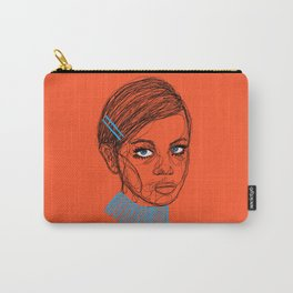 Twiggy strikes again Carry-All Pouch