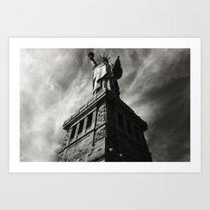Statue of Liberty 5. Art Print