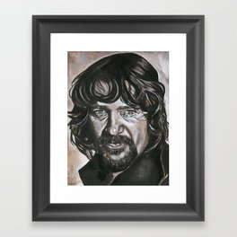 Waylon Framed Art Print