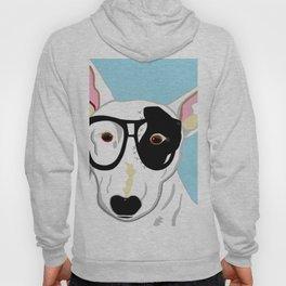 Hipster Bull Terrier Hoody
