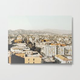 Hollywood California Metal Print