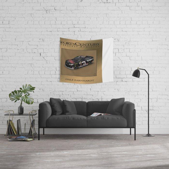 My #DaleEarnhardtSr Daytona win art. Wall Tapestry