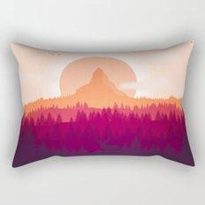 Wildlife Forest Rectangular Pillow