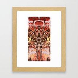 Lockbox Twin Framed Art Print