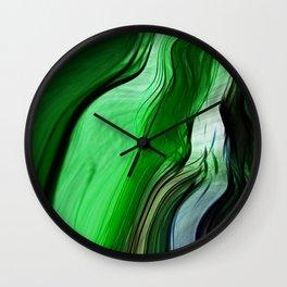 Liquid Grass Wall Clock