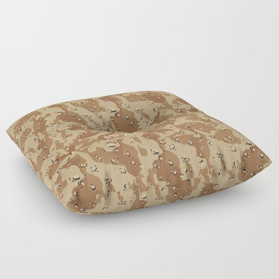 Desert Camouflage Floor Pillow