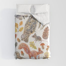 Autumn Wildlife Comforters