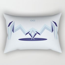 Infinity Portal Rectangular Pillow