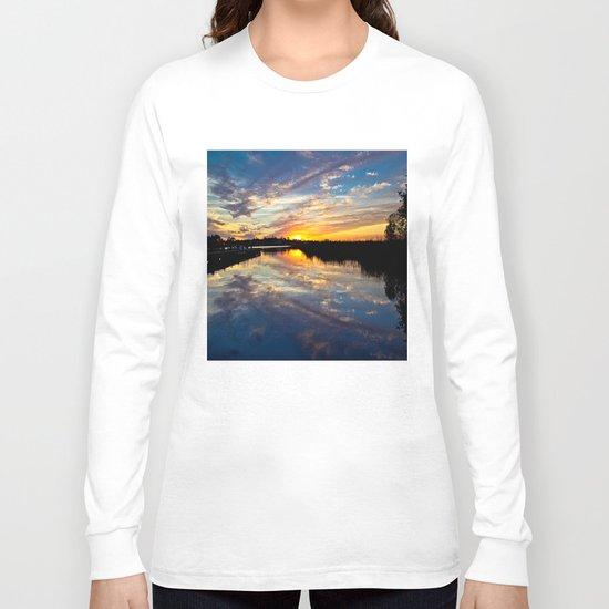 Reflected Sunset Long Sleeve T-shirt