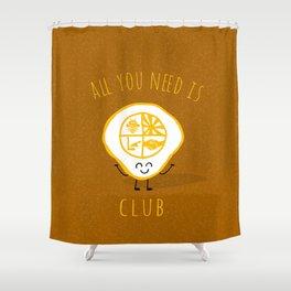 All u need is Adventure Club Shower Curtain