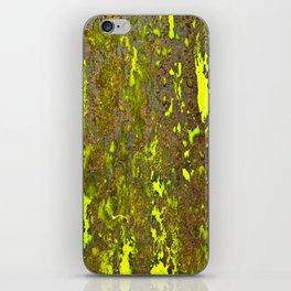 Yellow Rust iPhone Skin