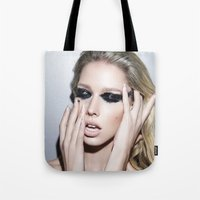 blur Tote Bags featuring Blur by Brandon Lundby