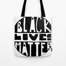 Black Lives Matter Filled Tote Bag