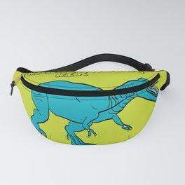 Dino Print T-Rex Fanny Pack