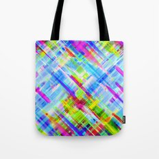 Colorful digital art splashing G468 Tote Bag