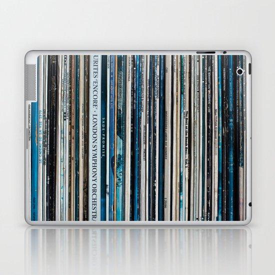 Old Vinyl Laptop & iPad Skin