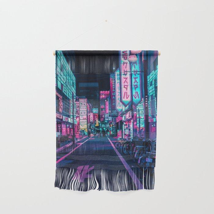 A Neon Wonderland called Tokyo Wall Hanging