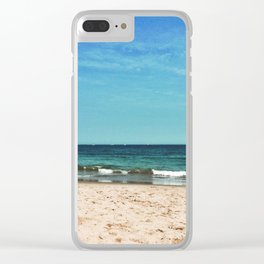 Summer at the Jersey Shore Clear iPhone Case
