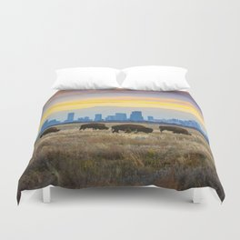 City Buffalo Duvet Cover