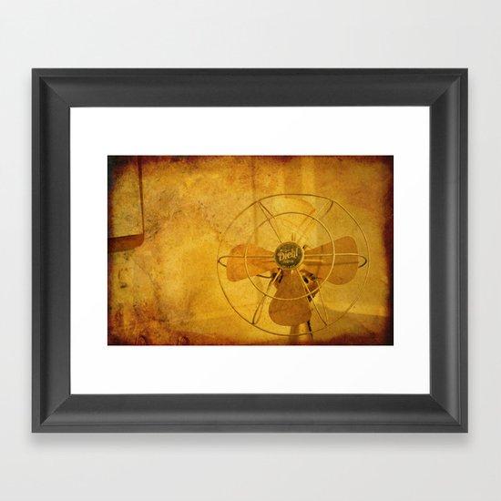 The Real Diehl Framed Art Print