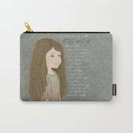 Portrait of Cosette from Les Misérables Carry-All Pouch