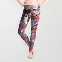 Bikini Gladiator girl  Leggings