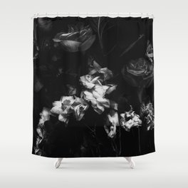 Moody Blooms Shower Curtain