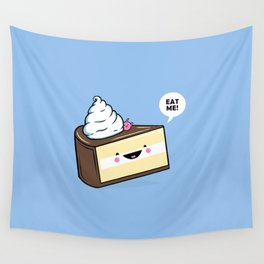 Eat Me! - Wonderland Kawaii Cake Wall Tapestry