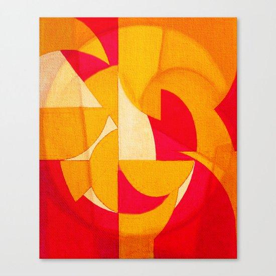 Geometric Reconstruction 2 Canvas Print
