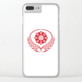 The Lucky Charm Clear iPhone Case