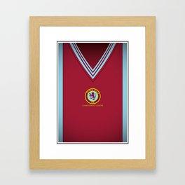 Aston Villa European Champions 82 Framed Art Print