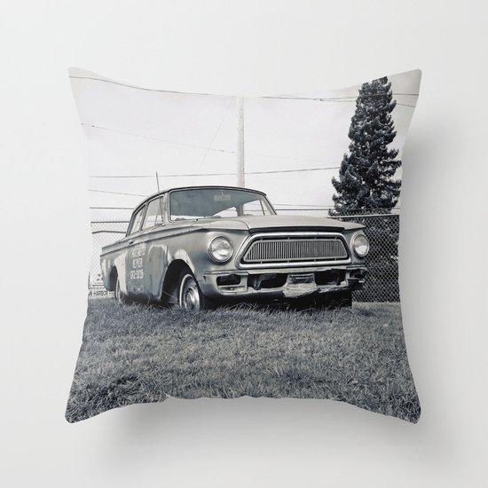 Rusty Rambler Throw Pillow