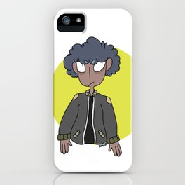 golden boy iPhone Case