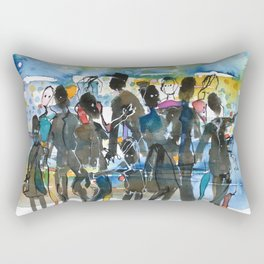 Tivoli day Rectangular Pillow