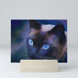Sulley Blues Mini Art Print