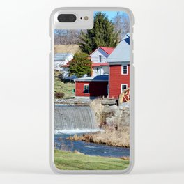 Taylor's Mill Clear iPhone Case