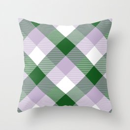 Geometrical Square Abstraction 10 Throw Pillow