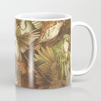 watch Mugs featuring Red-Throated, Black-capped, Spotted, Barred by Teagan White