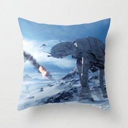 Battlefront Wars Throw Pillow