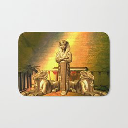 Anubis, the egyptian god Bath Mat