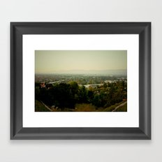 City Capture Framed Art Print