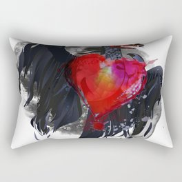 Dragon in Love Rectangular Pillow