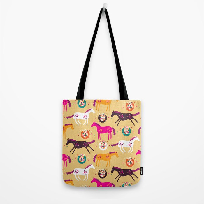 Lucky Horses Tote Bag