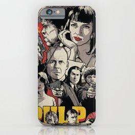 Pulp Fiction Movie Poster - Quentin Tarantino iPhone Case